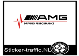 AMG Driving performance sticker