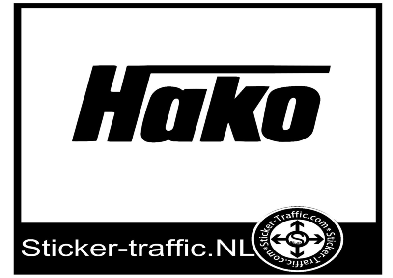 Hako sticker