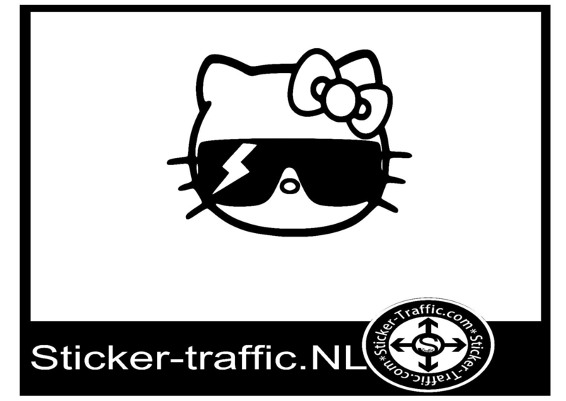 Hello kitty design 14 sticker