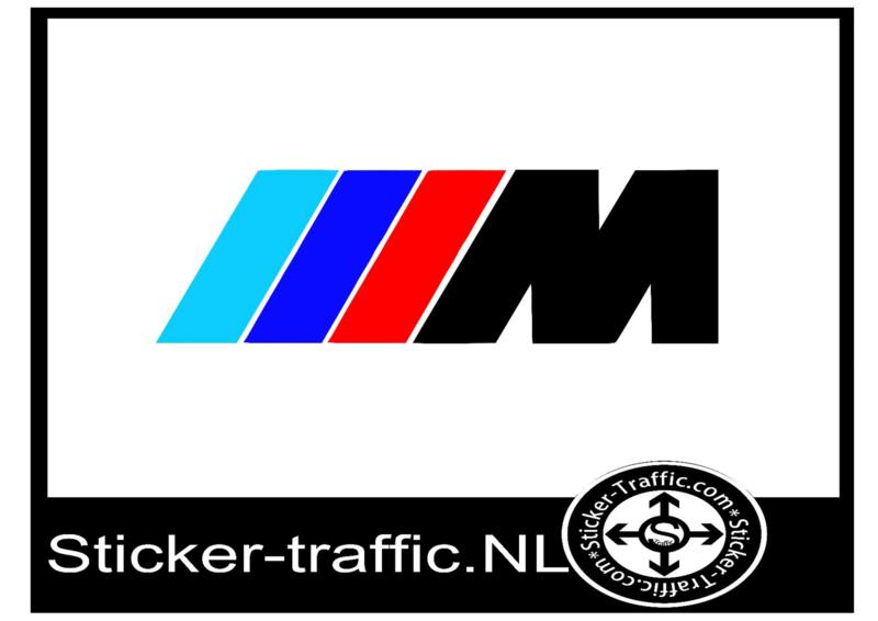 BMW gekleurd remklauw sticker