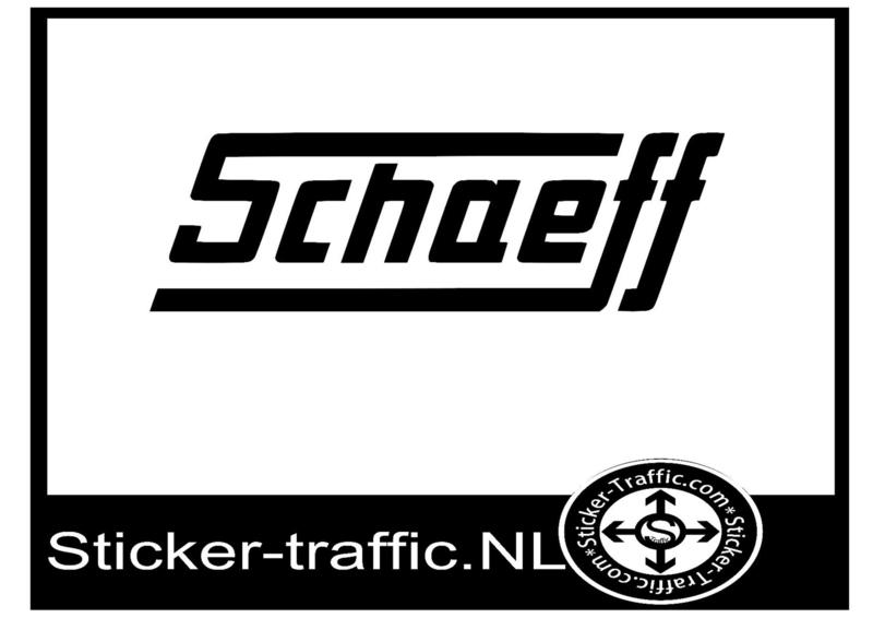 Schaeff sticker