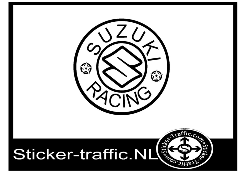 Suzuki racing sticker