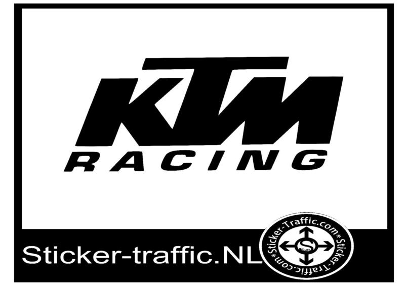 KTM racing design 1 sticker