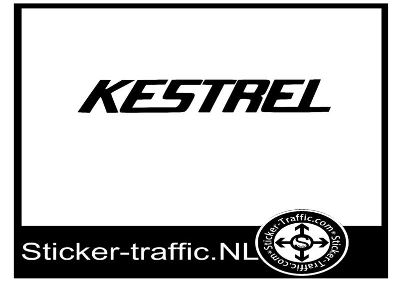 Kestrel sticker