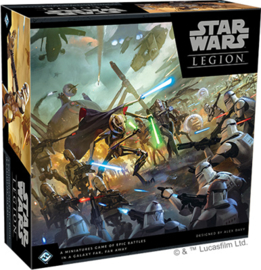 STAR WARS LEGION CLONE WARS CORE SET - ENG