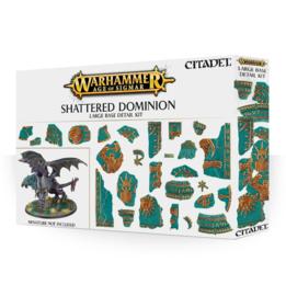 Shattered Dominion Large Base Detail Kit