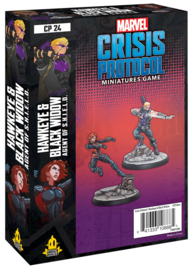 MARVEL CP HAWKEYE AND BLACK WIDOW - ENG