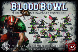 The Skavenblight Scramblers - Skaven Blood Bowl Team