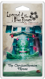 LEGEND OF THE FIVE RINGS THE CHRYSANTHEMUM THRONE - ENG