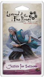 LEGEND OF THE FIVE RINGS JUSTICE FOR SATSUME - ENG