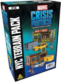 MARVEL CRISIS PROTOCOL NYC TERRAIN PACK- ENG