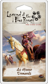 PRE-SALE - LEGEND OF THE FIVE RINGS AS HONOR DEMANDS - ENG - release: 08/2020