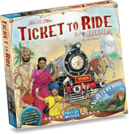 Ticket to Ride - Map Collection - India - Zwitserland