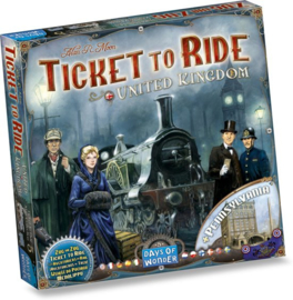 Ticket to Ride - Map Collection - United Kingdom - Pennsylvania