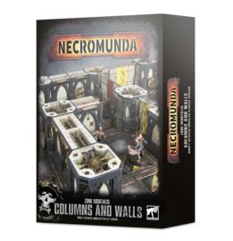 Necromunda Zone Mortalis Columns and Walls