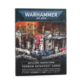 Battlezone Manufactorum Datasheet Cards (English)