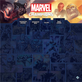 PRE-SALE - MARVEL LCG 1–4 PLAYER PLAYMAT - RELEASE: 15/01/2020
