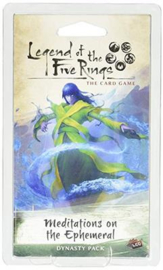 LEGEND OF THE FIVE RINGS MEDITATIONS ON THE EPHEME - ENG