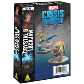 MARVEL CP CRYSTAL AND LOCKJAW - ENG