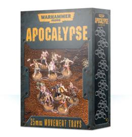 Apocalypse 25mm Movement Trays