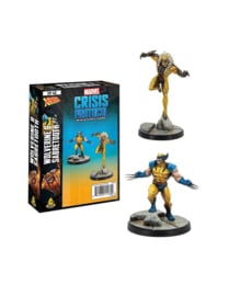 MARVEL CP WOLVERINE AND SABRETOOTH - ENG
