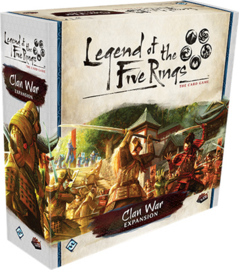 LEGEND OF THE FIVE RINGS CLAN WAR EXPANSION - ENG