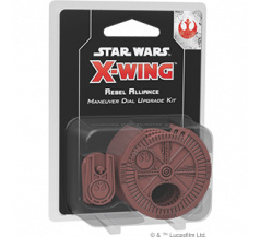 Star Wars X-Wing 2.0 Rebel Alliance Maneuver Dial Upgrade Kit