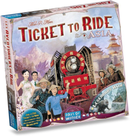 Ticket to Ride - Map Collection - Asia