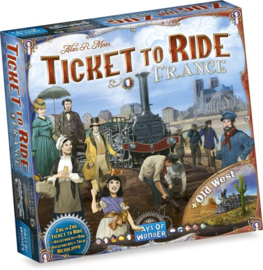 Ticket tor Ride - Map Collection - France + Old West