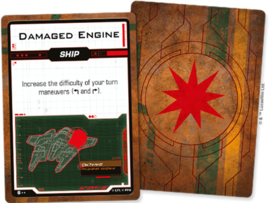 STAR WARS X-WING 2.0 SCUM AND VILLAINY DAMAGE DECK - ENG