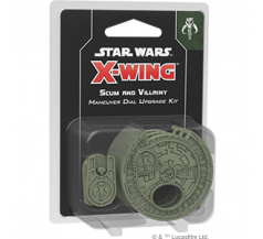 Star Wars X-Wing 2.0 Scum Villainy Maneuver Dial