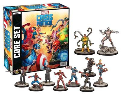 MARVEL CRISIS PROTOCOL MINIATURES GAME CORE SET - ENG