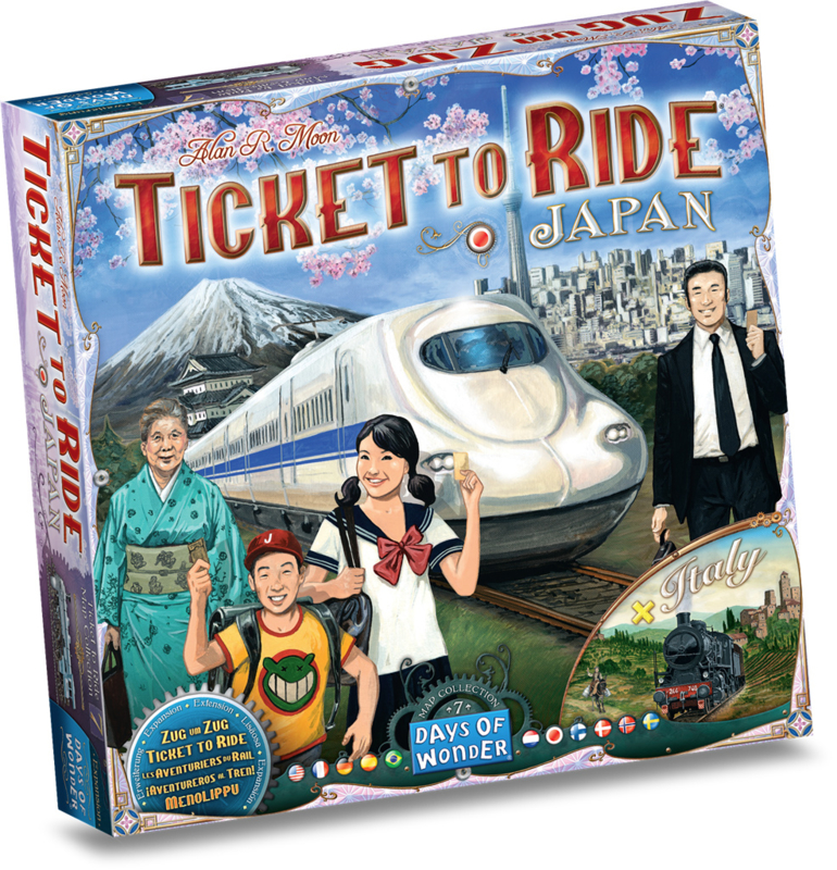 TICKET TO RIDE - JAPAN/ITALY - MULTILINGUAL