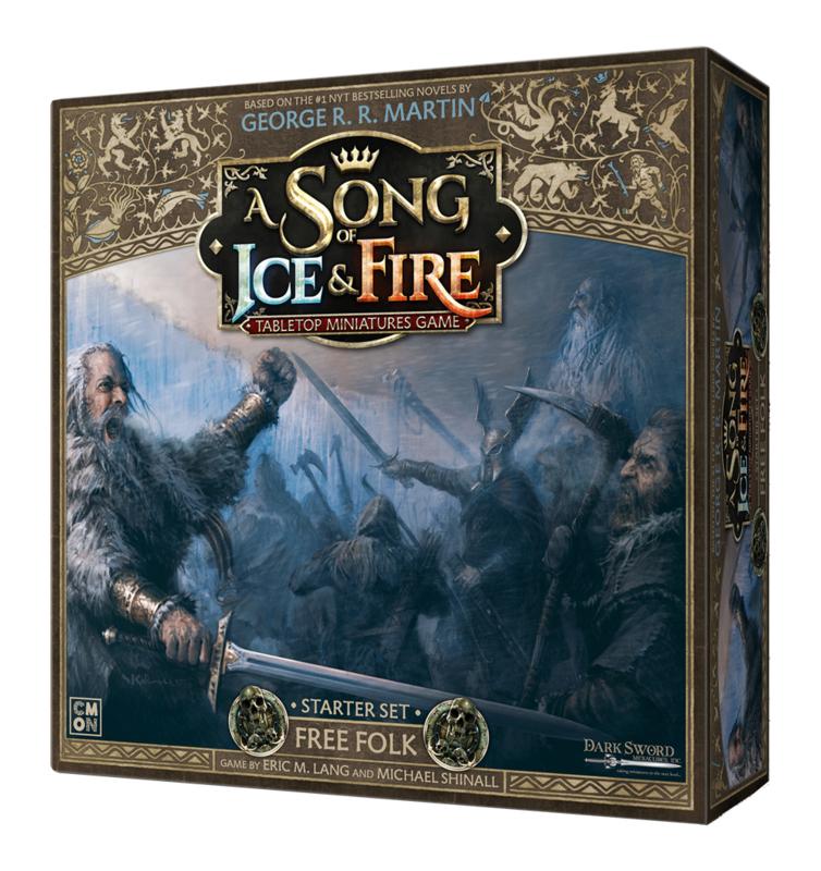 A SONG OF ICE & FIRE FREE FOLK STARTER SET