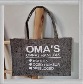 Vilten  Oma's oppas handtas