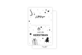 Mini-kaart | Van de kerstman