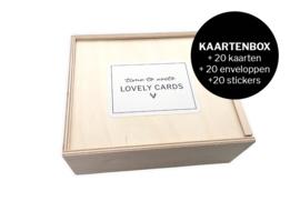 Kaartenbox XL