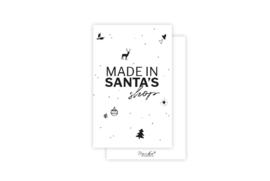 Mini-kaart | Made in santa's shop