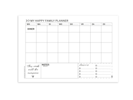 A-4 Familieplanner