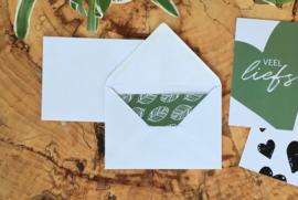 Envelop A-6 | Wit