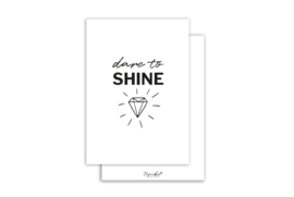 Kaart | Dare to shine