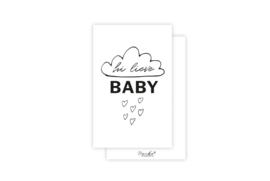 Mini-kaart | Hi lieve baby