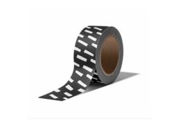 Washi tape | Streepjes wit