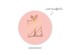 Sticker | Kadootje | 10 stuks