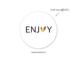 Sticker | Enjoy | 10 stuks