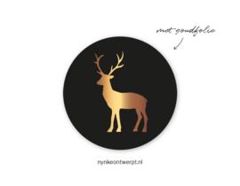 Sticker | Rendier | 10 stuks