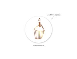Sticker | Cupcake | 10 stuks