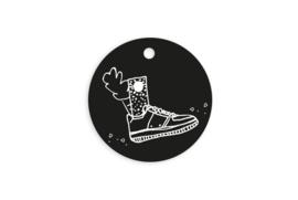 Kadolabel rond | Schoen zetten