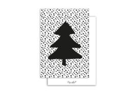 Kaart | Kerstboom