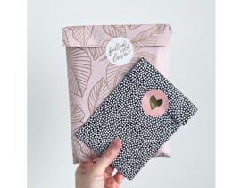 Sticker   Hartje roze   10 stuks